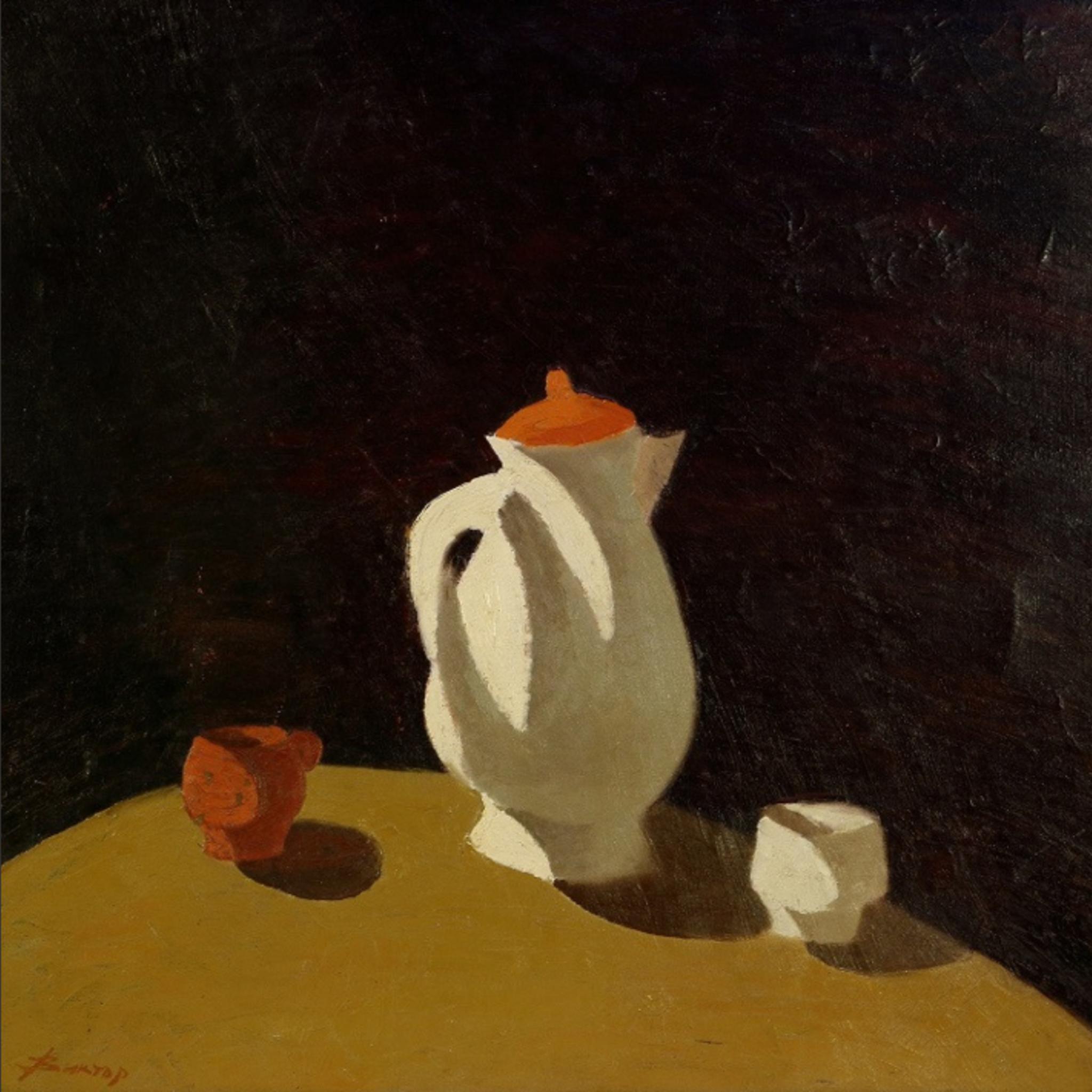 Персональная выставка Виктора Высочина «Свет, тень, кофе»