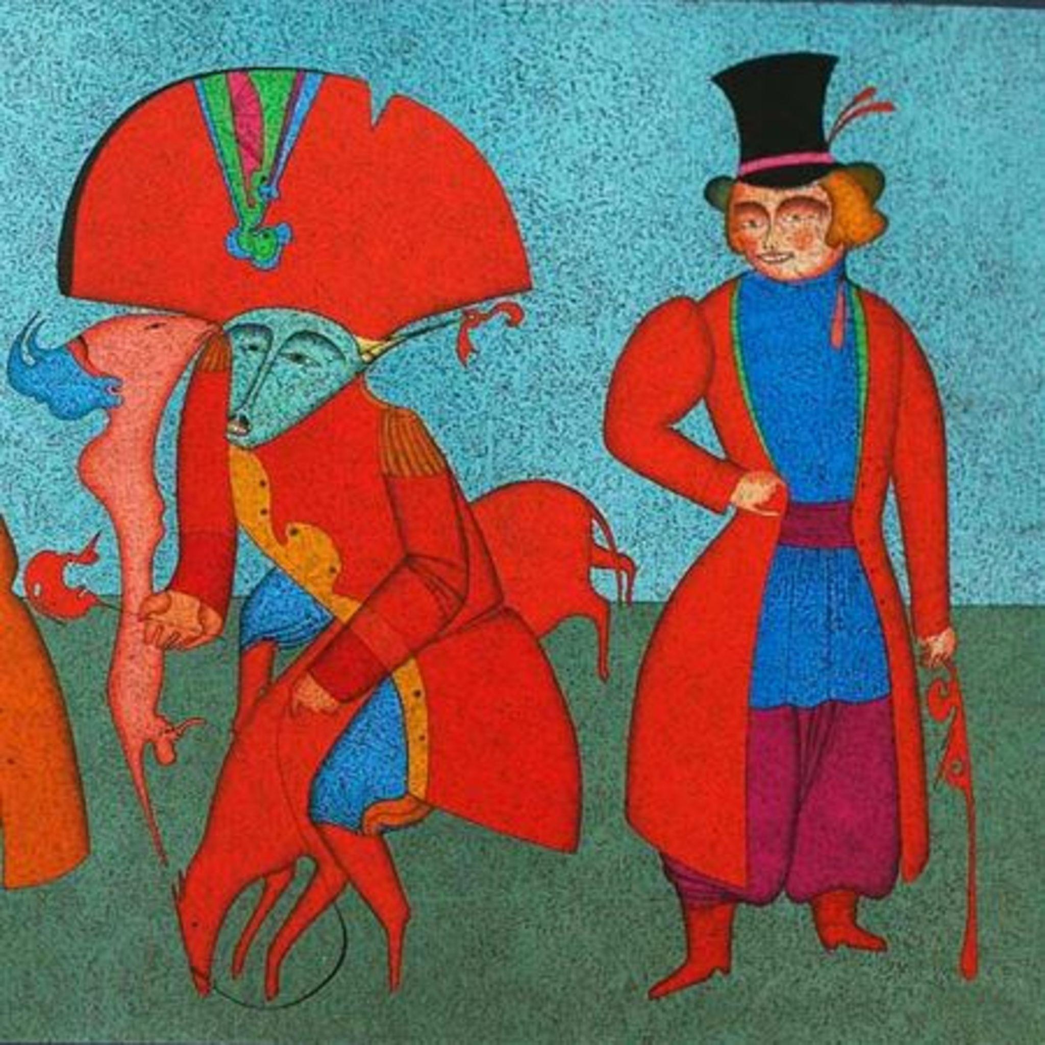 Выставка Михаила Шемякина «Карнавалы Санкт-Петербурга»