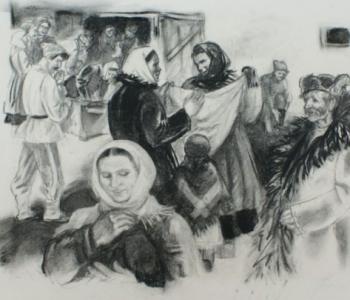 Выставка «Книжная графика по произведениям М. А. Шолохова»