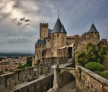 Башни рыцарского замка. Романский стиль